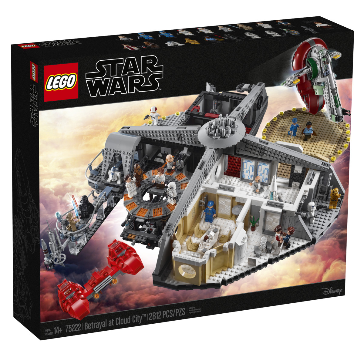 75222 box1 v39 - LEGO's Star Wars Betrayal at Cloud City is a brilliant recreation of the Empire Strikes Back
