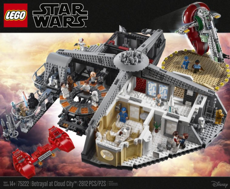 LEGO's Star Wars Betrayal at Cloud City is a brilliant recreation of the Empire Strikes Back 12