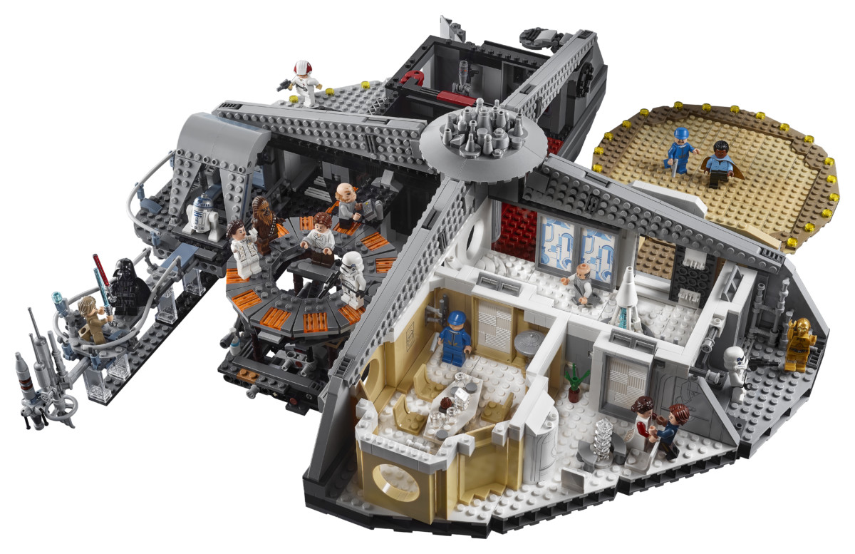 75222 front 01 - LEGO's Star Wars Betrayal at Cloud City is a brilliant recreation of the Empire Strikes Back