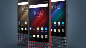The BlackBerry KEY2 LE is a lighter, more inexpensive and colorful version of the KEY2 19