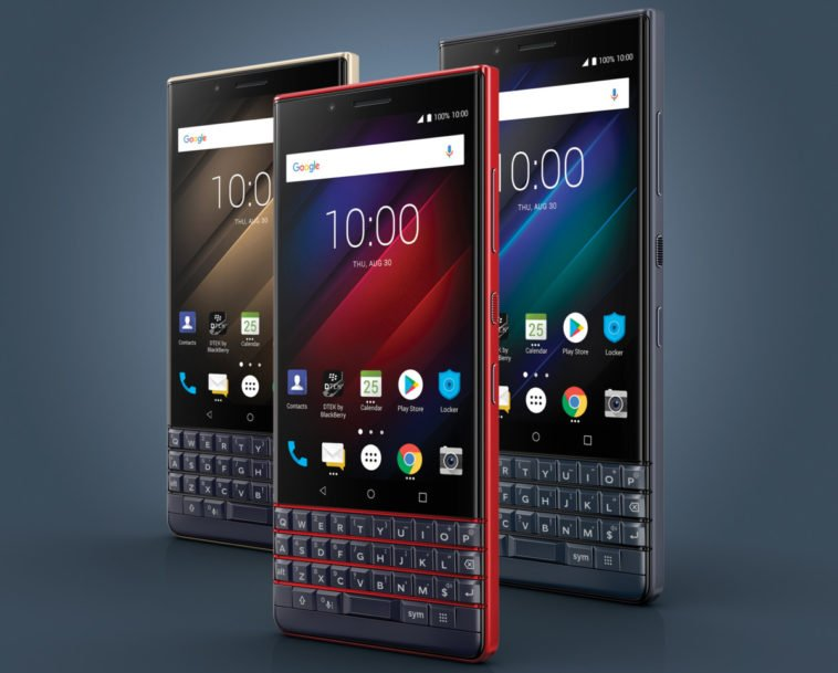 The BlackBerry KEY2 LEis a lighter, more inexpensive and colorful version of the KEY2 12