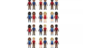 A ton of diverse emoji couples are on their way 12
