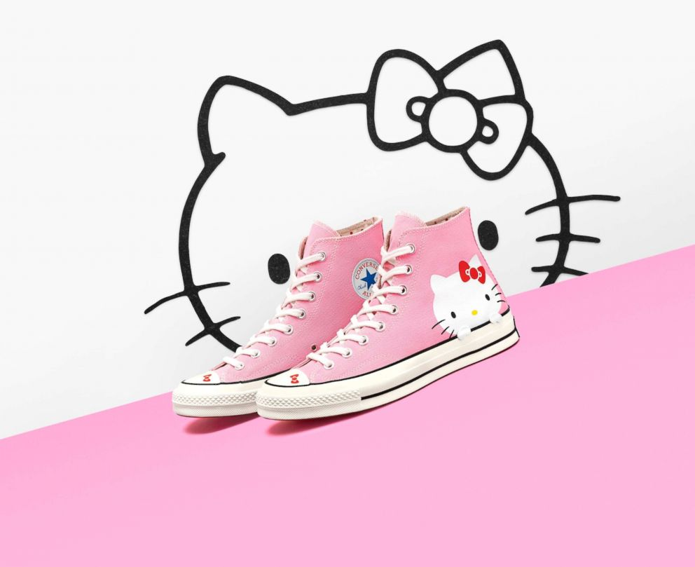 Converse sneakers are now available with Hello Kitty all over them 16