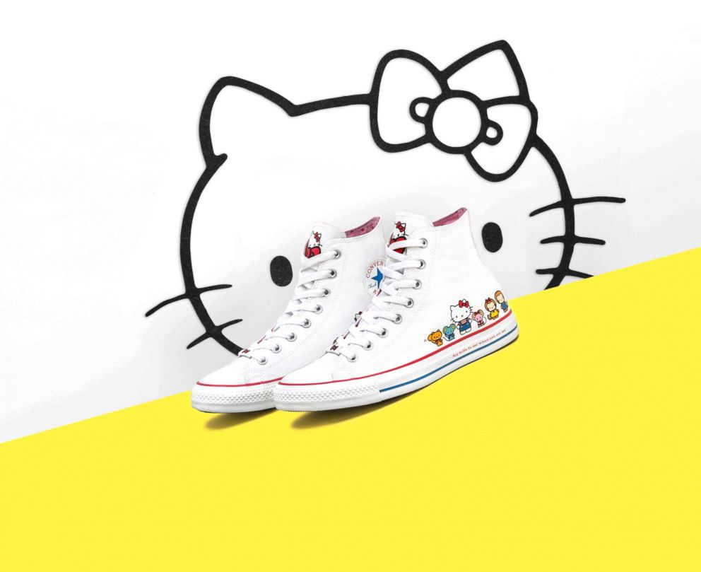 Converse sneakers are now available with Hello Kitty all over them 15