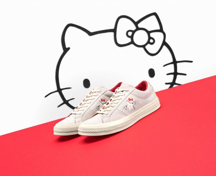 Converse sneakers are now available with Hello Kitty all over them 13