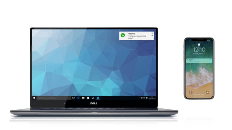 Dell Mobile Connect brings iOS app notifications to your PC 10