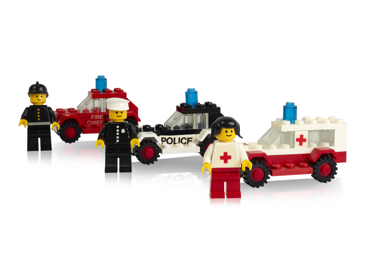 Some of the first minifigures launched in 1978 with transportation