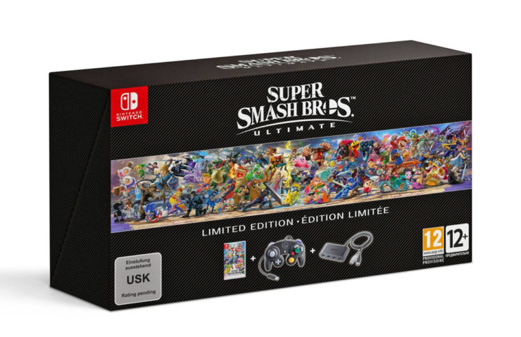 Super Smash Bros Ultimate is a limited edition bundle full of GameCube nostalgia 20