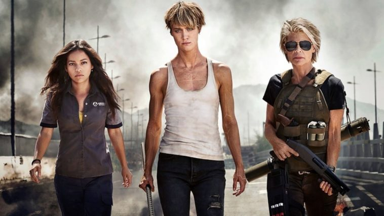 Linda Hamilton is totally kick-ass in first shots from the new Terminator film 20