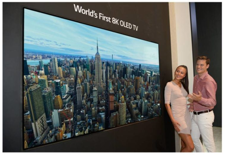 LG introduces their first 8K OLED display 16