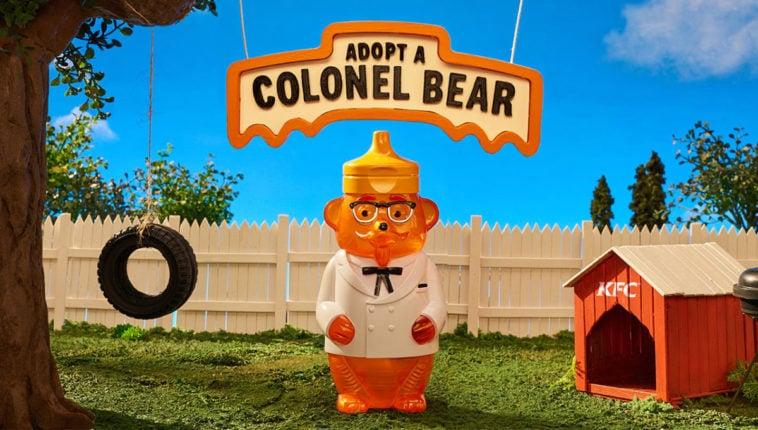 KFC is giving away free talking Colonel honey bears 16