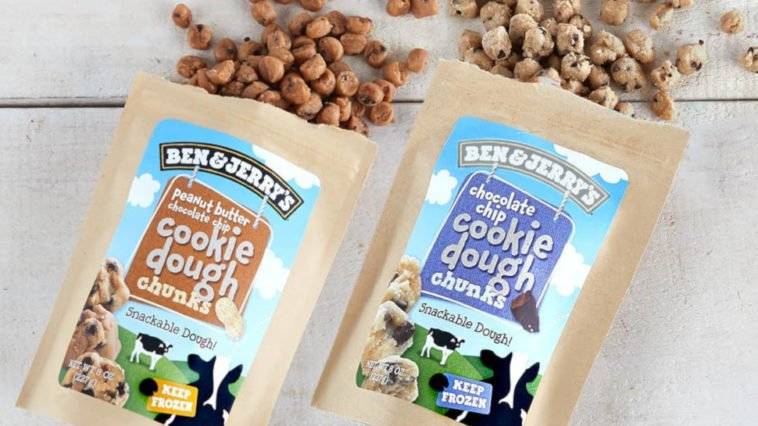 Ben & Jerry's is selling cookie dough without the ice cream 12