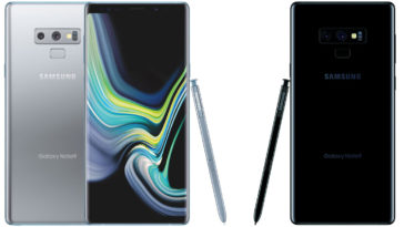 galaxy note silver black 364x205 - Samsung unveils new colors for the Galaxy Note9