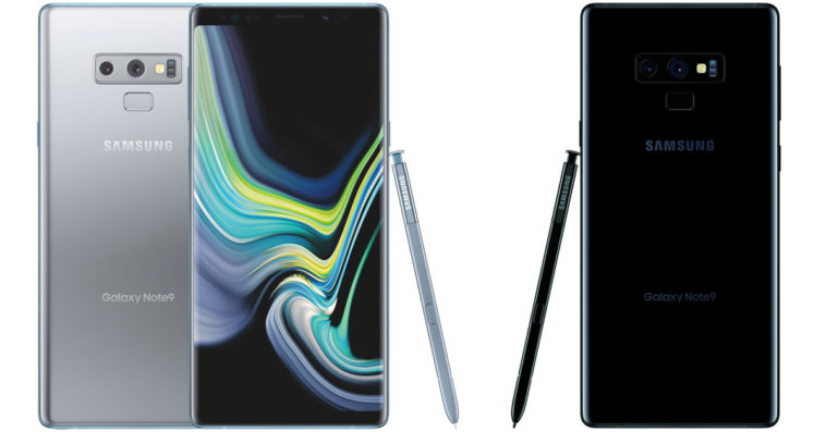 Samsung unveils new colors for the Galaxy Note9 16