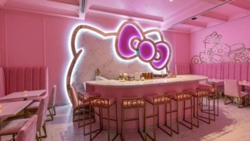 A Hello Kitty cafe and bar is opening in California this week 18