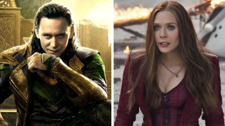 Loki and the Scarlet Witch are both getting their own TV series 12
