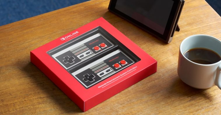 Nintendo has created wireless NES controllers for the Switch 12