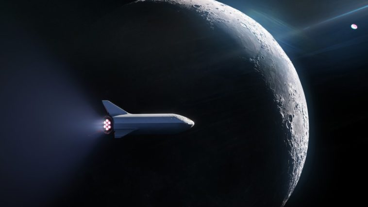 Space X moon