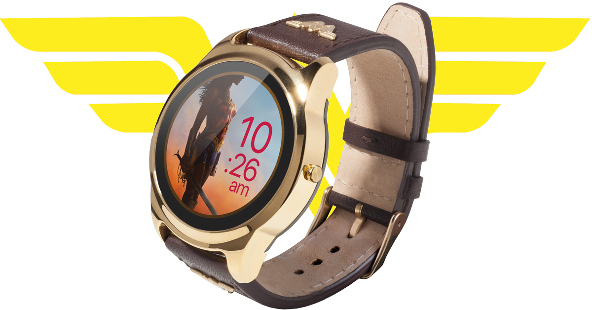 wonder woman smartwatch 364x205 - Wonder Woman now has her own smartwatch