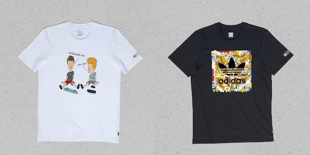 Adidas is coming out with Beavis and Butt-Head sneakers and clothing 14