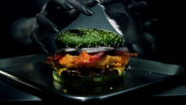 burger king green sandwich 364x205 - Burger King creates green sandwich designed to give you nightmares