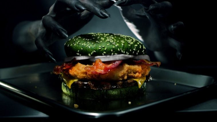 Burger King creates green sandwich designed to give you nightmares 14