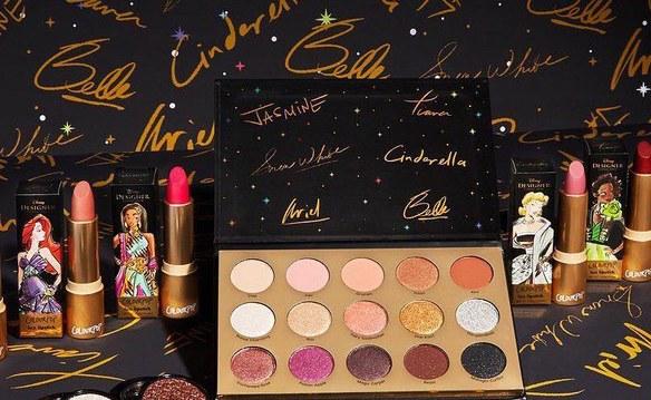color pop disney princess copy - ColourPop has created a Disney Princess makeup line