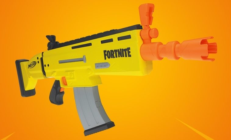 Nerf previews its first Fortnite-inspired blaster 13