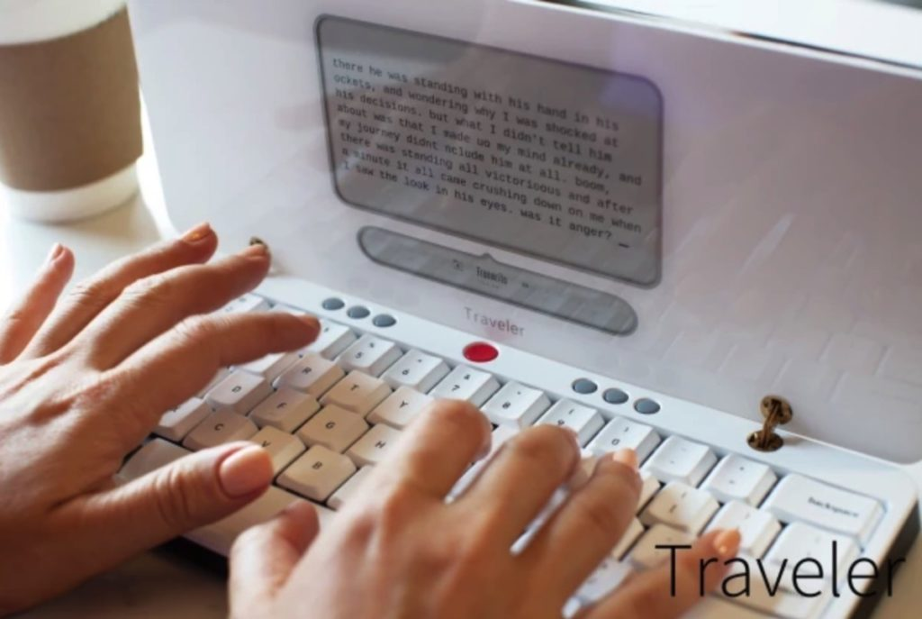 Freewrite Traveler is a 'distraction-free typewriter' that fights writer's block 17