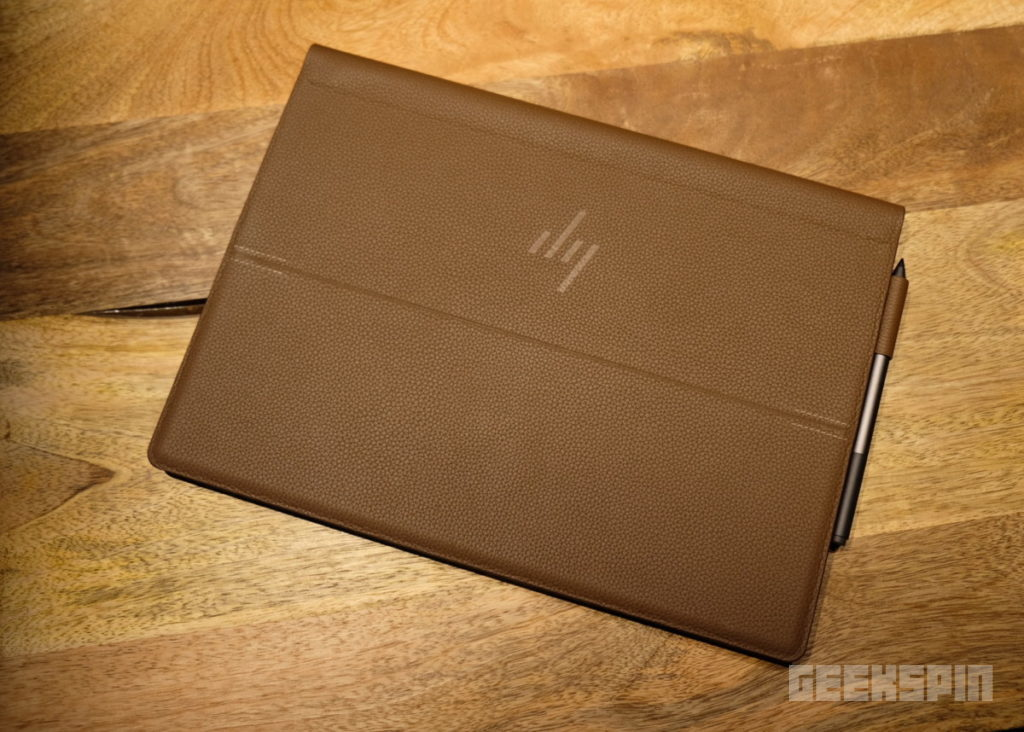HP's luxurious Spectre Folio PC is made in leather 9