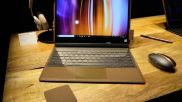 HP's luxurious Spectre Folio PC is made in leather 18