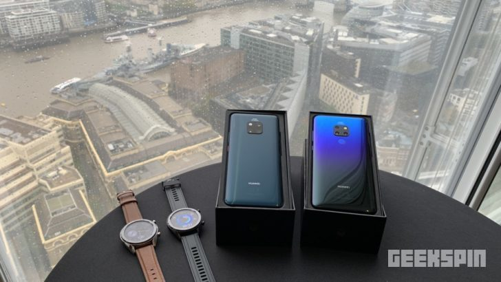 Huawei Mate 20 series launches with a Leica triple lens and in-screen fingerprint reader 11
