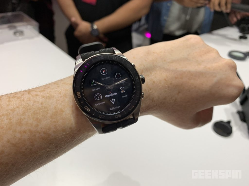 LG teamed up with a Swiss watchmaker to create the Watch W7 13