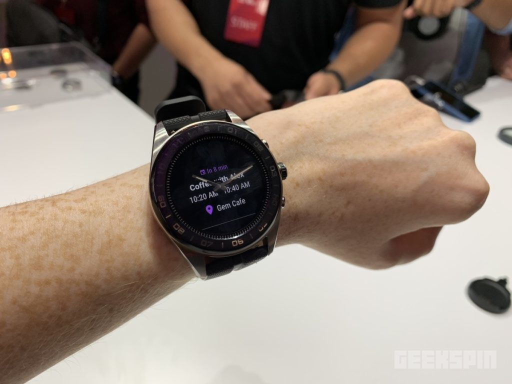 LG teamed up with a Swiss watchmaker to create the Watch W7 12