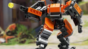 LEGO has come out with an Overwatch collection featuring Bastion 17