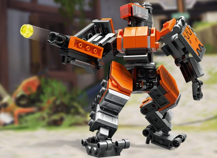 LEGO has come out with an Overwatch collection featuring Bastion 9