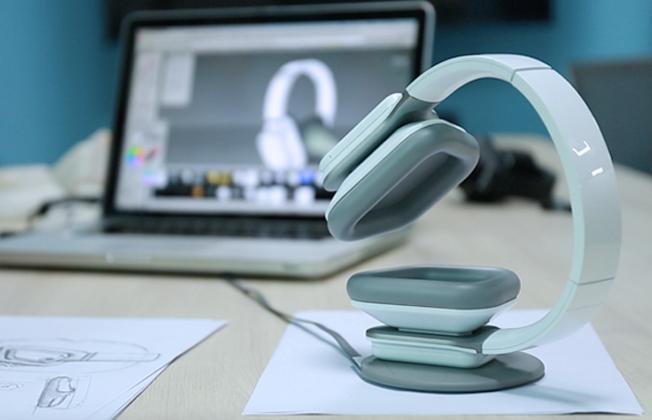 lynxsonic - Lynxsonic headphones swap round ear cups for ones shaped like ears