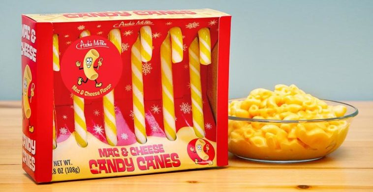 Mac & Cheese-flavored candy canes are flying off store shelves 12