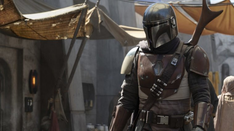 Here's the first photo from the live-action Star Wars TV show The Mandalorian 16