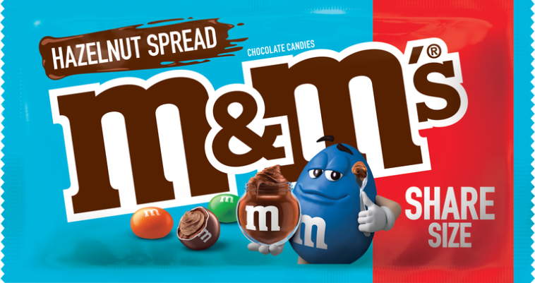 New hazelnut M&M's taste just like Nutella 12