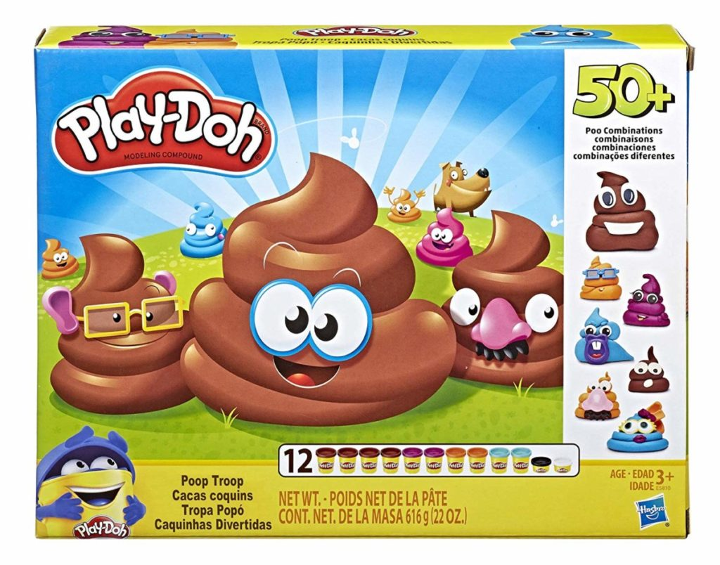 Hasbro jumps on poop emoji bandwagon with a gross Play-Doh set 12