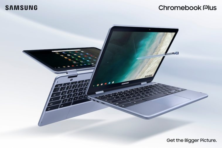 Samsung's Chromebook Plus V2 now comes with LTE 10