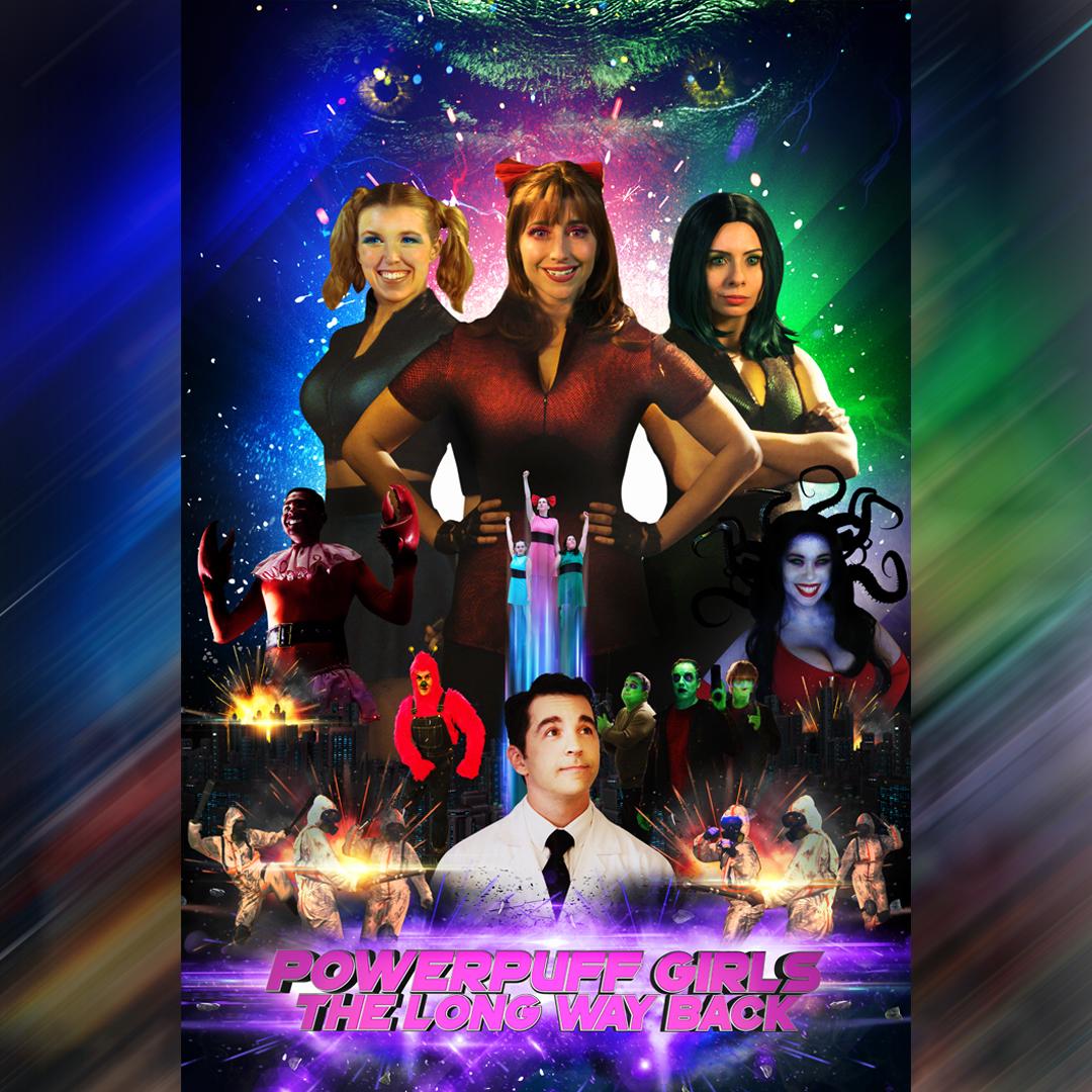 1 ppg poster instagram - Adi Shankar's Bootleg Universe releases a badass Powerpuff Girls fan film