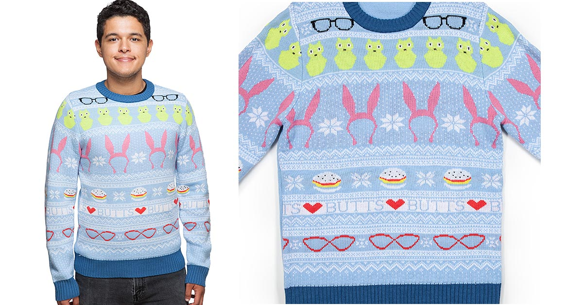 #3 Bob's Burgers Holiday Sweater
