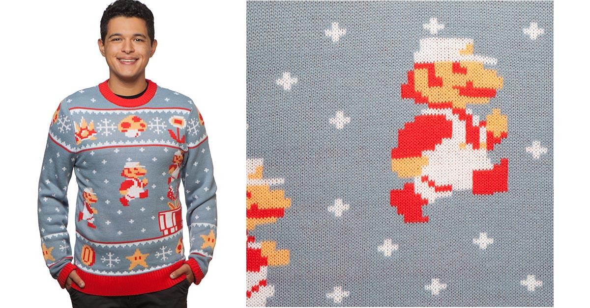 #4 Super Mario Bros. Holiday Sweater