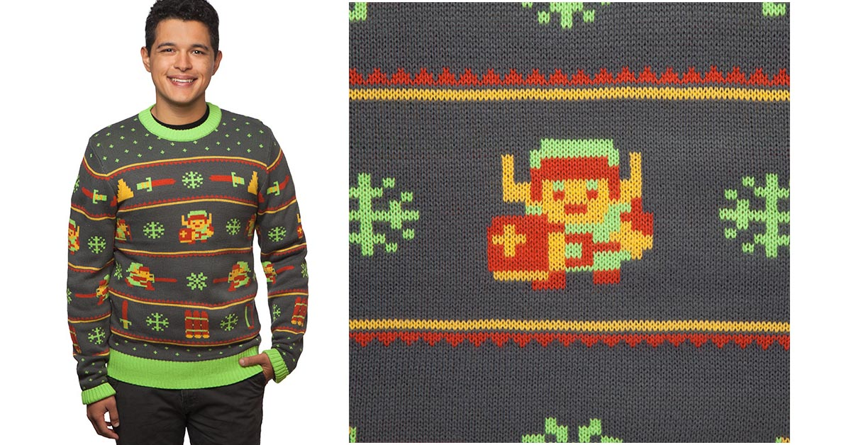 #5 The Legend of Zelda Holiday Sweater