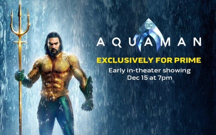 Amazon Prime members get to see Aquaman a week early 14