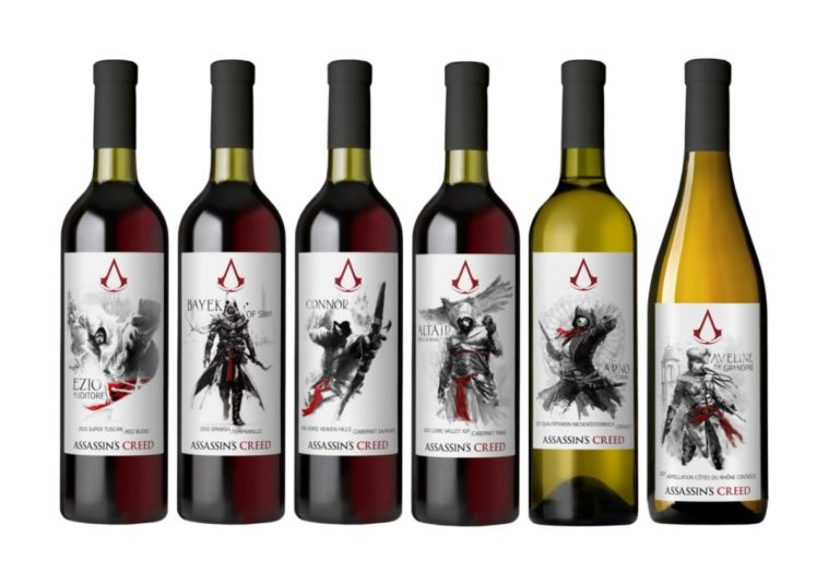 Assassin's Creed wine collection features a bottle for each of our favorite assassins 12