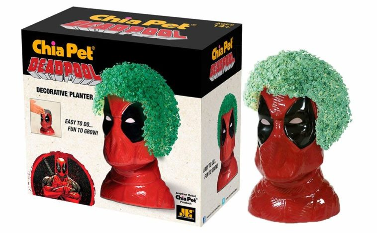 This Deadpool Chia Pet is maximum effort 12