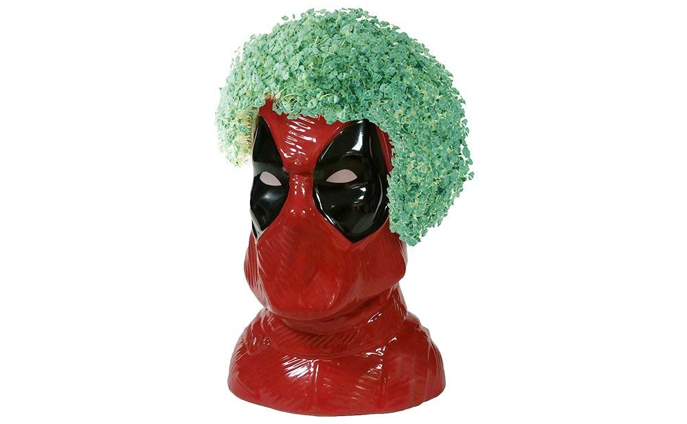 This Deadpool Chia Pet is maximum effort 13